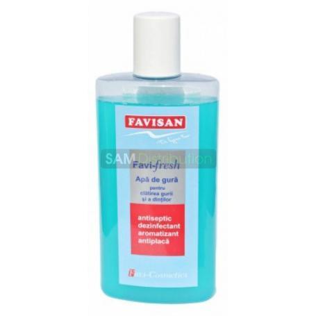 Apa de gura Favifresh copii, 125 ml, Favisan