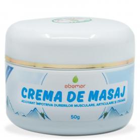 Crema de masaj pentru dureri musculare, 50 g, Abemar Med