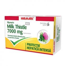 Silymarin 7000 mg Milk Thistle MAX, 60 coprimate, Walmark