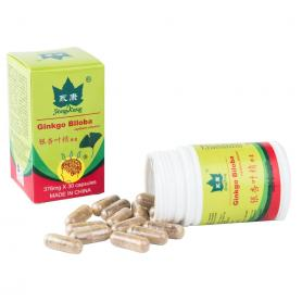 Ginkgo Biloba, 30 capsule 376 mg, Yong Kang