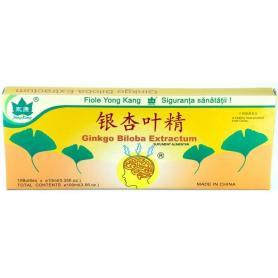 Ginkgo Biloba 10 fiole, Yong Kang