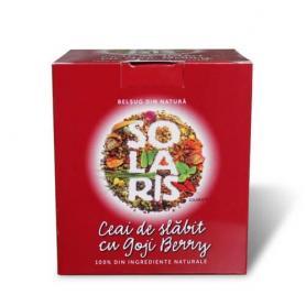 Ceai de slabit Goji Berry, 20 dz x2 g, Solaris