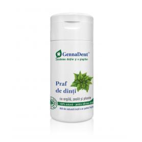 Praf de Dinti Genna Dent alb stralucitor 50 ml VivaNatura