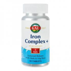 Iron Complex, 100 tablete, Secom Kal