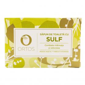 Sapun cu sulf,100 g Ortos