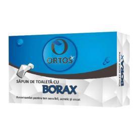 Sapun cu Borax, 100 g, Ortos