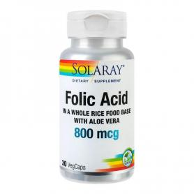 Folic Acid 800 mcg, 30 capsule, Secom
