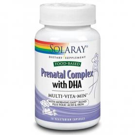 Prenatal Complex cu DHA Multi-Vita-Min, 30 capsule, Secom