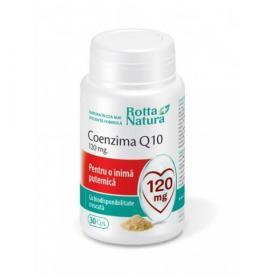 Coenzima Q10 120 mg, 30 capsule, Rotta Natura