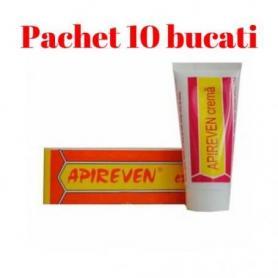 10 cutii Apireven, crema cu venin de albine,30g,Institutul Apicol