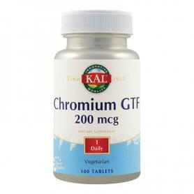 Chromium GTF 200mcg, 100 tablete, Secom