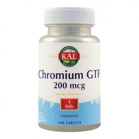 Chromium GTF 200mcg, 100 tablete, Secom
