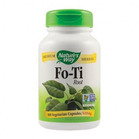 Fo-Ti Root 610mg, 100 capsule, Secom