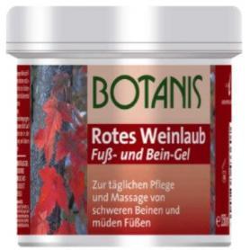 Gel cu extract de vita de vie rosie, 250 ml, Botanis