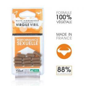Virgile Virile, 6 capsule, Claude Aphrodisiacs