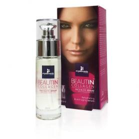 Ser antirid Beautin Collagen, pentru ten si ochi, 30ml, Myelements