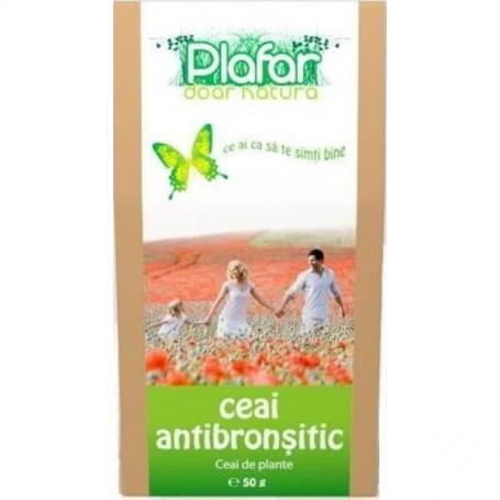 Ceai antibronsitic, 50gr, Plafar