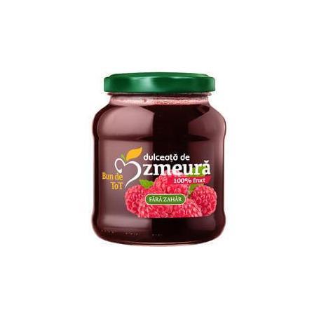Dulceata de zmeura, 360gr, Dacia Plant - fara zahar