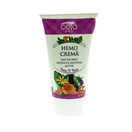 Hemo crema cu unt de shea si extracte naturale active, 50 ml, Ceta Sibiu