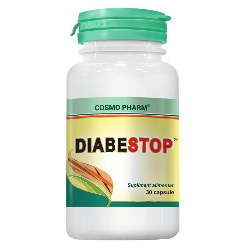 Diabestop, 30 capsule - Cosmopharm