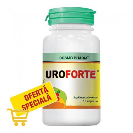 UroForte, 30 capsule, Cosmopharm