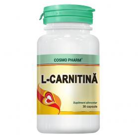 L-Carnitina, 30 capsule, Cosmopharm