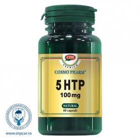 5-HTP 100 mg Premium, 60 capsule, Cosmopharm