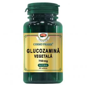 Glucozamina Vegetala 750 mg Premium, 60 tablete, Cosmopharm
