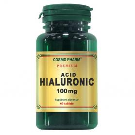Acid hialuronic 100 mg Premium, 60 tablete, Cosmopharm