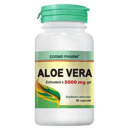 Aloe Vera, 30 capsule, Cosmopharm