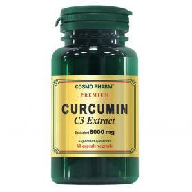 Curcumin C3 Extract Premium, 60 capsule, Cosmopharm