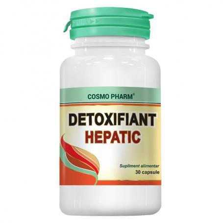 Detoxifiant Hepatic, 30 capsule, Cosmopharm