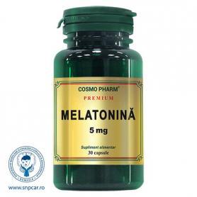 Melatonina, 5 mg Premium, 30 capsule, Cosmopharm