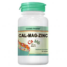 Cal Mag Zinc, 30 tablete, Cosmopharm
