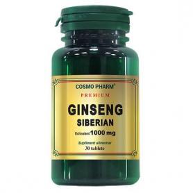 Ginseng Siberian, Premium , 60 tablete, Cosmopharm