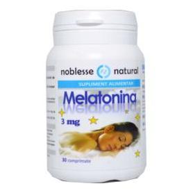 Melatonina 3 mg, 30 comprimate, Noblesse