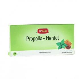 PROPOLIS MENTOL, 10 comprimate, Biofarm