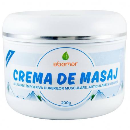 Crema masaj 200 g Abemar Med