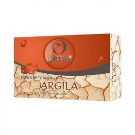 Sapun cu argila pentru acnee,100 g, Ortos
