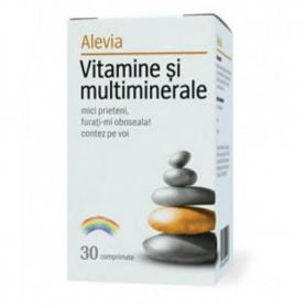 Vitamine si Multiminerale 30cpr Alevia