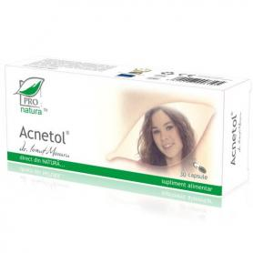 Acnetol, 30cps blister, Pro Natura
