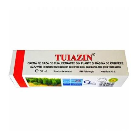 Tuiazin Crema cu Extract Tuia 50ml Elzin Plant