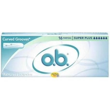 OB Curved Grooves super plus 16 buc