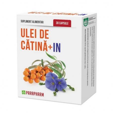 Ulei de Catina + In, 30 capsule, Parapharm