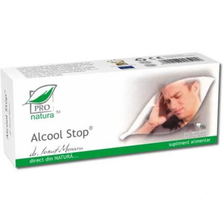 Alcool Stop 30Cps Blister Medica