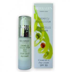 Crema Antirid de Noapte cu Celule Stem, 30 gr, Herbagen