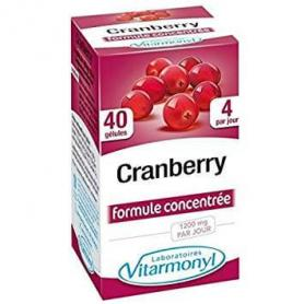 Vitarmonyl Cranberry Merisor 60 Gelule