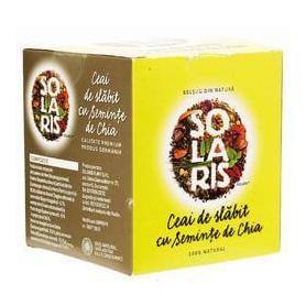 Ceai de slabit cu seminte de Chia 2g x 20dz Solaris