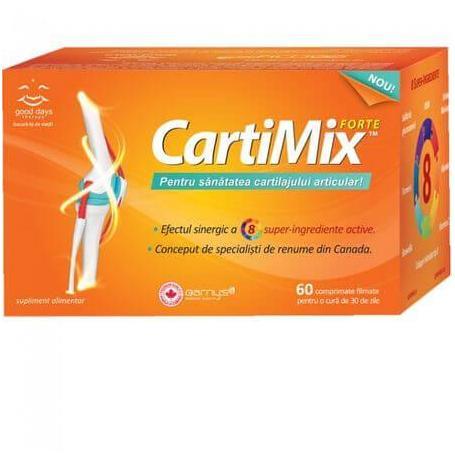 Cartimix Forte, 60 comprimate, Biopol pret, prospect