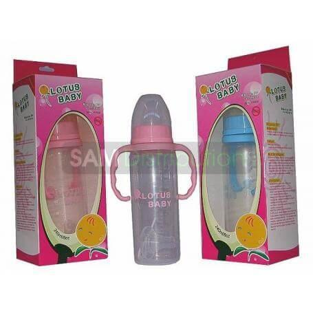 Lotus Baby Biberon PP cu manere 240 ml